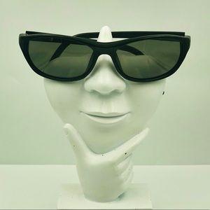 Kenneth Cole Black Oval Sunglasses